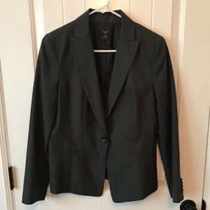 Ann Taylor Suit Jacket Dark Gray